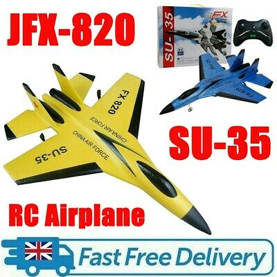 SU-35 RC Remote Control Aircraft Airplane Helicopter EPP Foam Plane Xmas Toy UK • 27.99£