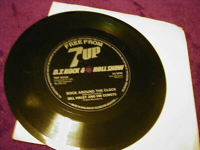 Bill Haley And His Comets, Rock Around The Clock ,7  Flexi Disc 7up • 1.99£