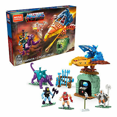 $42.99 • Buy Mega Construx Masters Of The Universe Panthor At Point Dread Building Toy Set