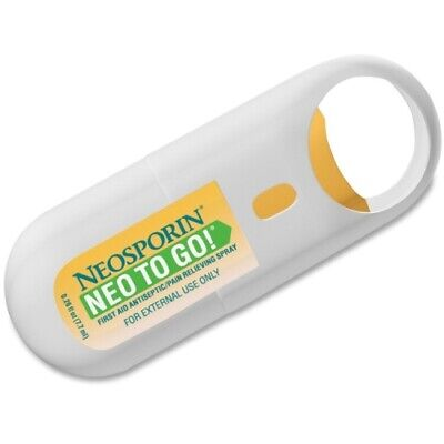 Neosporin NEO TO GO! First Aid Antiseptic/Pain Relieving Spray • 10.18£