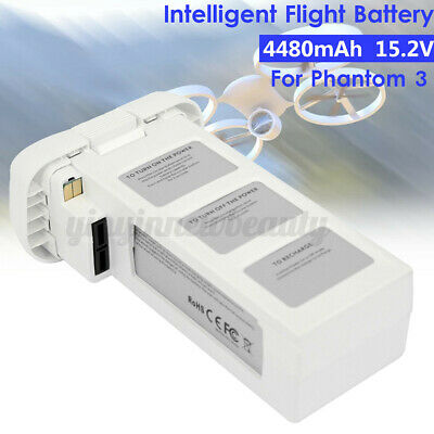 AU107.99 • Buy Intelligent Flight Battery 4480mAh 15.2V LiPo 4S For DJI Phantom 3