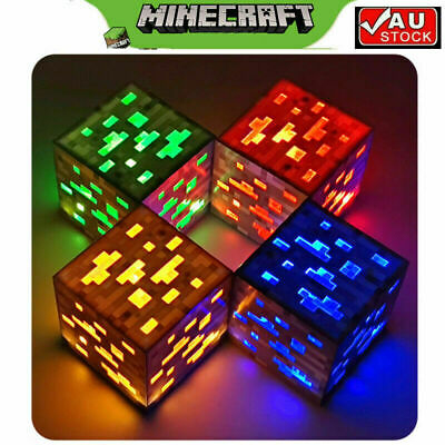 AU26 • Buy Minecraft Light-up Redstone Ore New Interactive Block