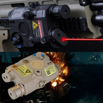 FMA PEQ 15 Upgrade Version LED White FLASHLIGHT + Red Laser With IR Lens • 28.29£