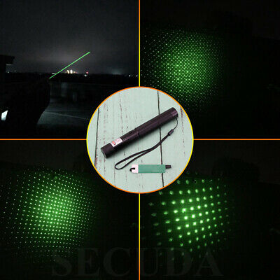 New Powerful Strong Laser Pointer Green Beam -1mw 18650 Cat Dog Toy PowerPoint • 12.71£
