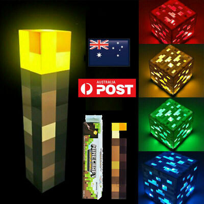 AU26 • Buy Minecraft Light-up Redstone Ore New Interactive Block AU STOCK