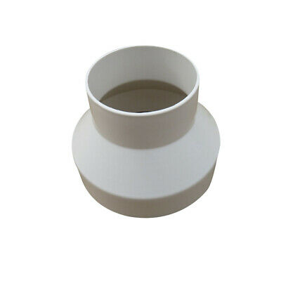150mm To100mm Ventilation Pipe Pipeline Circular Vent Ducting Reducer Adaptor UK • 5.99£