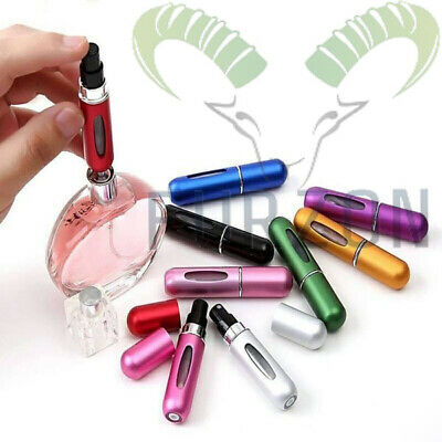 Perfume Refillable Atomiser Mini Bottle For Portable Travel Spray Case By FURZON • 2.49£