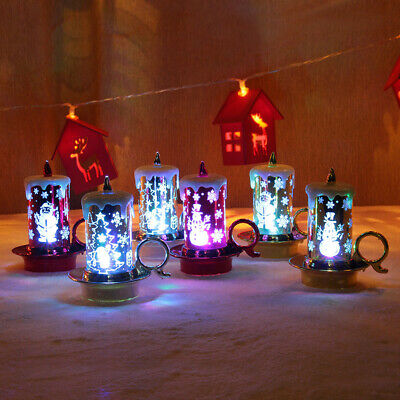 Battery Powered Home Christmas Decor LED Electronic Party Romantic Candle Light • 11.54£