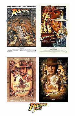 £2.19 • Buy Indiana Jones Harrison Ford 80s Movie Poster Iron On T-shirt Transfer