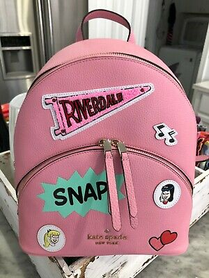 $ CDN155.69 • Buy Kate Spade X Archie Comics Betty & Veronica Archie Medium Backpack Pink $389 New