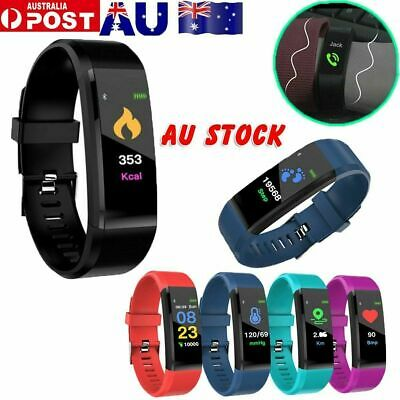 AU12.96 • Buy Fitness Smart Watch Activity Tracker WomenMen Fitbit For Android IOS Heart Rate