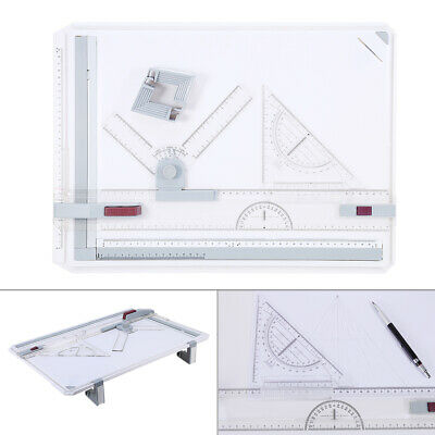 A3 Drawing Board Technical Table  Drafting Adjustable Angle UK • 19.99£