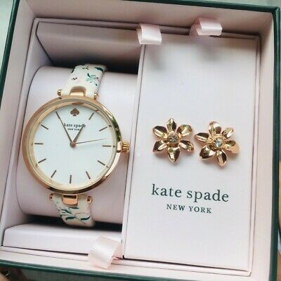 $ CDN108.45 • Buy Kate Spade Watch And Earring Gift Set KSW9037SET