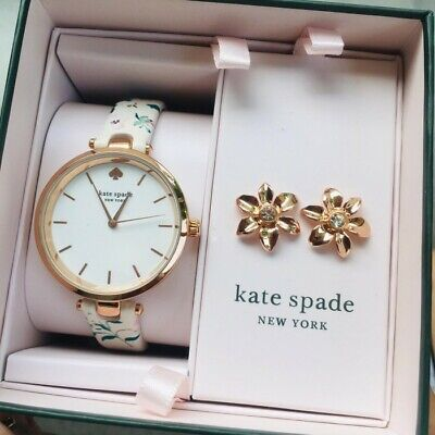 $ CDN125.31 • Buy Kate Spade Watch And Earring Gift Set KSW9037SET