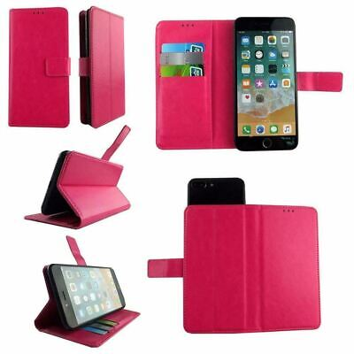 AU14.43 • Buy Premium Leather Mobile Phone Pink Wallet Book Case For Oppo F1s -L