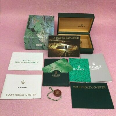 $ CDN215.60 • Buy ROLEX GENUINE 114270 EXPLORER Ⅰ Watch Box Case Booklet Calendar 68.00.02 B4320