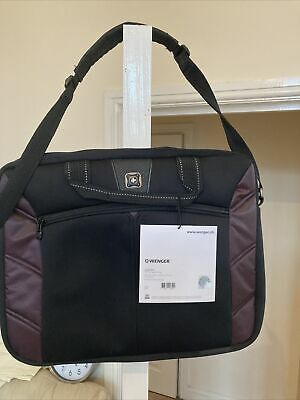 Wenger Laptop Bag Swiss Army Lightweight With Trolley Strap • 12.99£