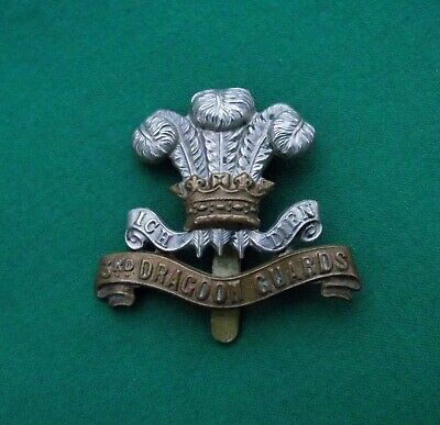 3rd Dragoon Guards (Prince Of Wales's) Genuine British Military Army Cap Badge. • 44.99£