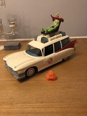 Vintage 1984 Ghostbusters Ecto 1 Columbia Pictures Complete With Egon Figure • 49£