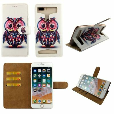 AU14.43 • Buy Premium Leather Mobile Phone Owl Wallet Book Case  For Oppo F1s -L