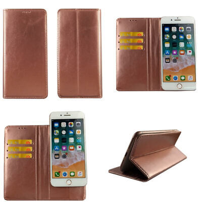 AU14.49 • Buy Premium Leather Mobile Phone Wallet Flip Case For Oppo A57 -L