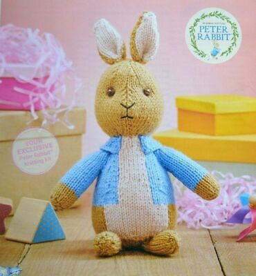 Sweet Peter Rabbit Soft Toy Knitting Pattern  • 2.95£