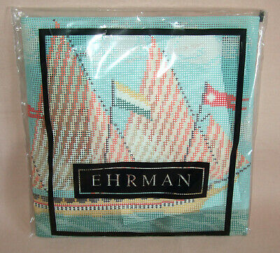 EHRMAN TAPESTRY KIT 'GALLEON' By CANDACE BAHOUTH, 2007, 38 X 27.5 Cms, NEW • 44.95£