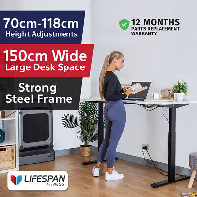 AU619 • Buy NEW Lifespan Fitness ErgoDesk AUTO Series Automatic Standing Desk 150cm