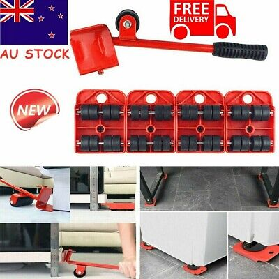 AU17.95 • Buy Heavy Furniture Lifter Lifting Easy Moving Slider Mover Tool Set Removal AU