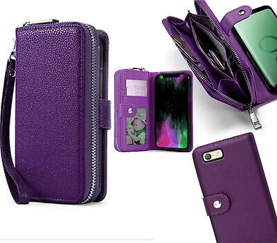 AU13.50 • Buy Oppo A39 / A57  Pu Leather Wallet Case Zip