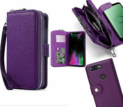 AU13.50 • Buy Oneplus 5T  Pu Leather Wallet Case Zip