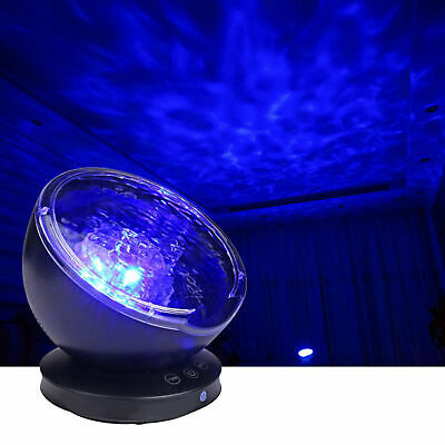 Relax Ocean Wave Music LED Night Light Projector Remote Lamp Baby Sleep Kid Gift • 11.88£