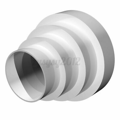 UK Ventilation Duct Pipe Pipeline Circular Ducting Reducer Adaptor 80mm To 150mm • 6.07£