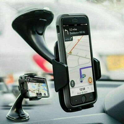 AU15.99 • Buy 360 In Car Mobile Phone Holder Universal Mount Windscreen Dashboard Suction Home