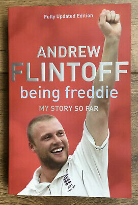 Andrew Flintoff - Signed Autobiography - Being Freddie, My Story So Far • 39.99£