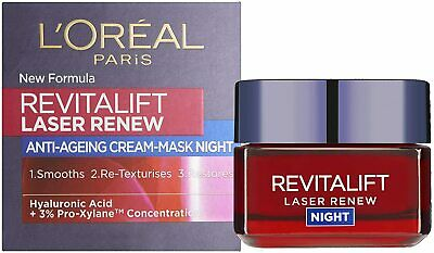 L'Oreal Paris Revitalift Laser Renew Pro-Xylane Anti-Ageing Night Cream 50ml • 9.45£