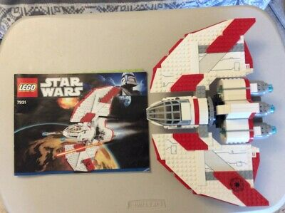 Lego Star Wars Jedi T-6 Shuttle Set 7931 Complete With All Figures & Box • 36£