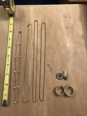 $ CDN11.13 • Buy Nice Lot Of Vintage Gold Filled Jewelry Scrap/Use 18.76 GRAMS