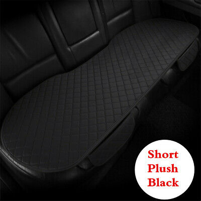 Car Auto Rear Seat Cushion Black Short Plush Seat Pad For Interior Accessories • 14.30£