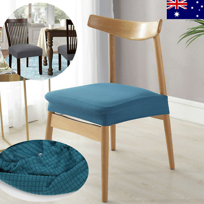 AU25.62 • Buy 4Pcs Stretch Dining Chair Covers Slipcover Spandex Banquet Seat Cover Removable