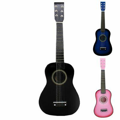 23 Inch Basswood Acoustic Guitar Musical Instruments For Children Childrens Gift • 22.58£