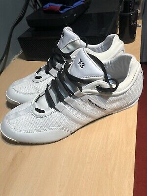 Adidas Y3 Boxing White/Black UK: Size 9 No Box - Excellent Condition • 85£