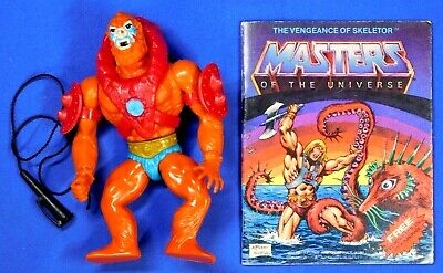 $99.99 • Buy Masters Of The Universe 8-back Beast Man Complete 1981 Mattel Taiwan