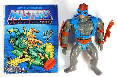 $124.99 • Buy Masters Of The Universe 8-back Stratos Complete 1981 Mattel Taiwan