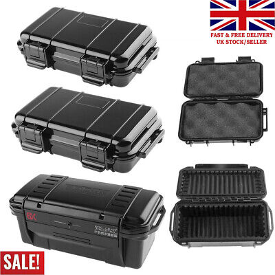 £15.11 • Buy Shockproof Sealed Waterproof Safety Case ABS Plastic Tool Dry Box Container S/L