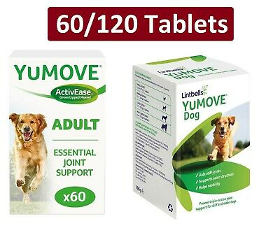 Lintbells YuMOVE Dog Mobility Health Supplement Aid For Stiff Old Dogs Various • 19.99£