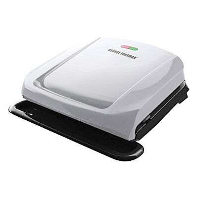 George Foreman 4-Serving Removable Plate & Panini Grill - Platinum (grp1060p) • 35.72£