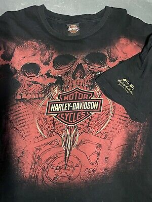 $ CDN18.28 • Buy Vintage Harley Davidson Shirt Denver Colorado Mile High Harley T-shirt 2XL HDMC