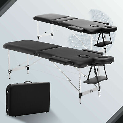 Portable Lightweight Folding Massage Table Bed Relax Salon Beauty Therapy Couch • 67.99£