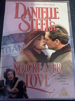 Danielle Steel's No Greater Love DVD Brand New And Sealed • 2£